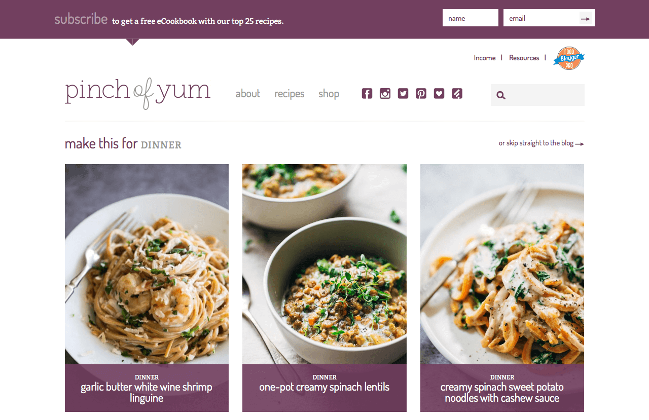 6 Food and Lifestyle Blog Trends to Take Your Site to the