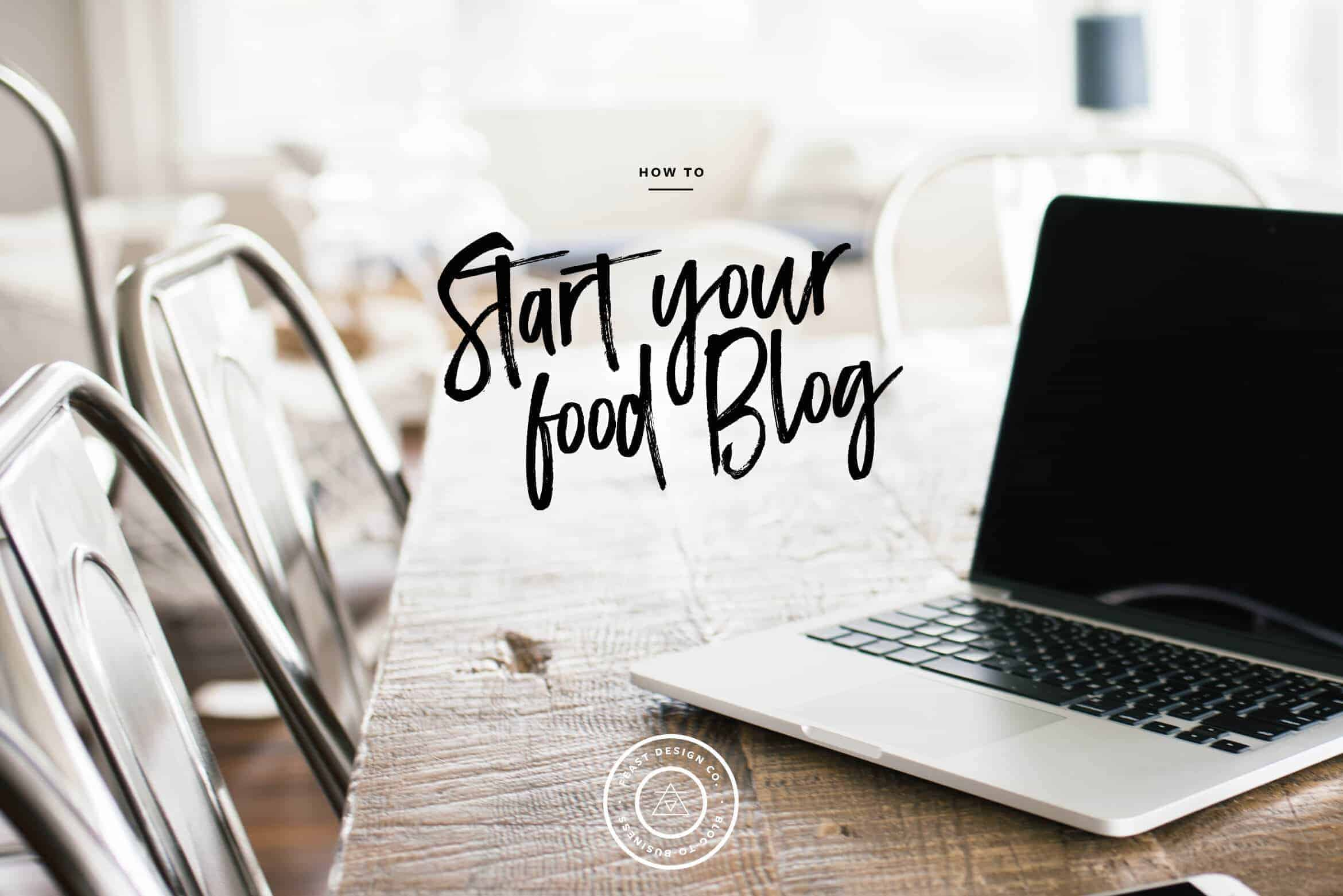 Use this checklist to start your food blog