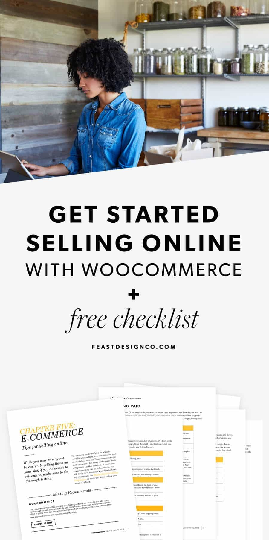 Get Started Selling Online with WooCommerce