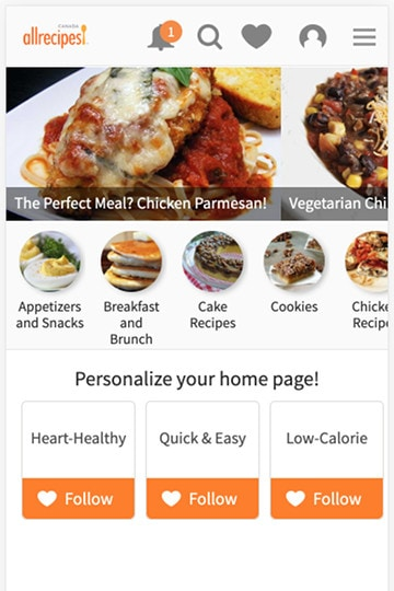 category images on allrecipes