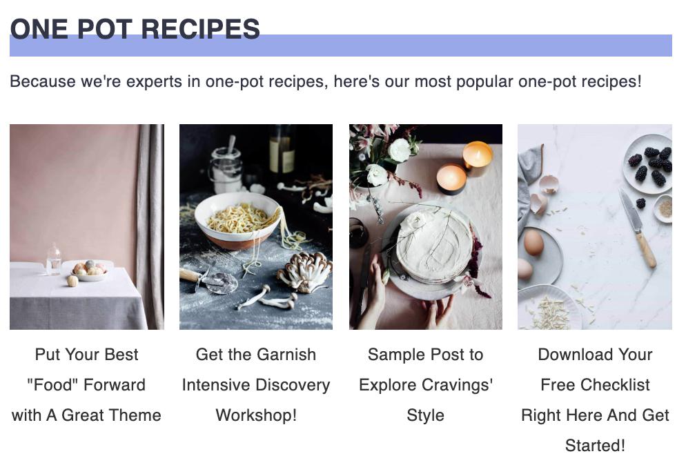 cravings pro homepage